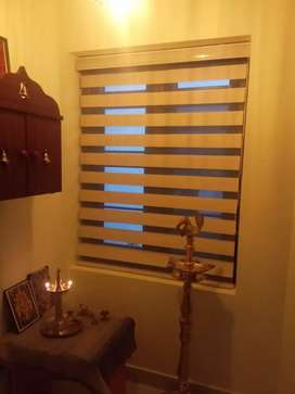 Zebra blinds for windows with installing (manufacture)