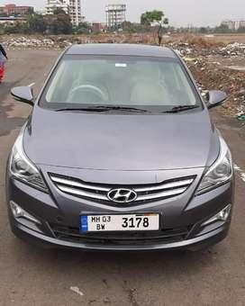 Hyundai Verna Fluidic 1.6 VTVT EX, 2015, Petrol