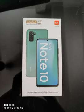 Redmi note 10 (4,64 Gb) black colour Seel pack