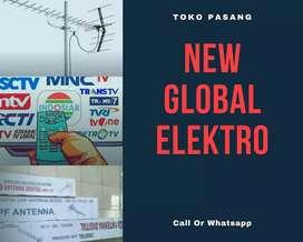 Toko Terdekat Pasang Sinyal Antena Tv Cidadap
