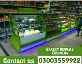 Wall rack | store rack | single sided rack | bakery counter |
