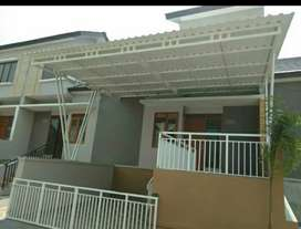 Kanopi atap alderon twinwall dll 0242