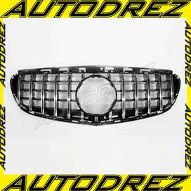 Grill Mercy E-Class W212 AMG GT Facelift Black Chrome 2014 - 2016