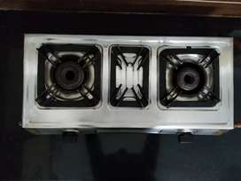 Gas stove,15 years two burners