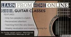 GUITAR TEACHER ONLINE
