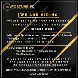 Required digital marketing executive