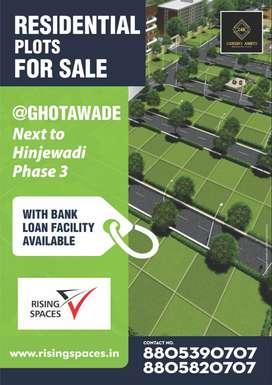 Residential NA plots @Ghotawade nr hinjawadi ph3 next to megpolis town