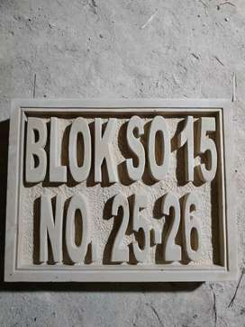 Batu paras relief ukir kerajinan batu alam