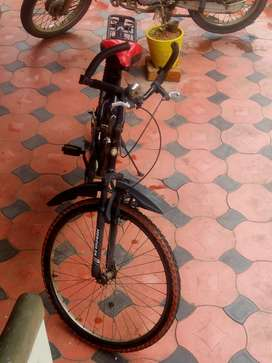 Brand new spring action bicycle