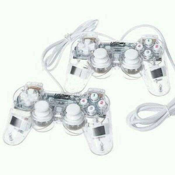 Gamepad Single Transparan K-One 0