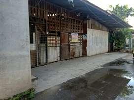 Dijual tanah dan bangunan bekas panglong mebel