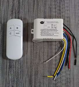 Remote Control Switch Wireless Switch 3 Relay Channels