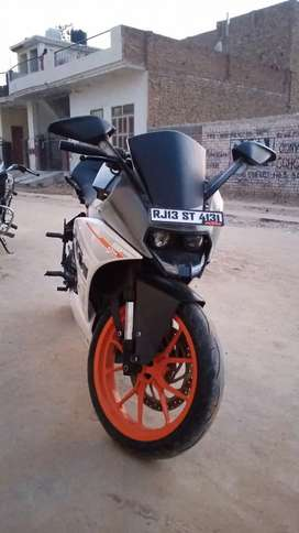 KTM 390 sale emergency any one interested DM me