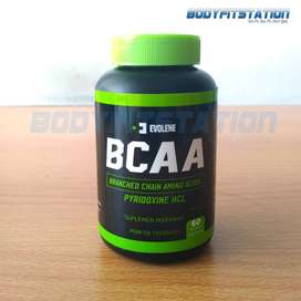 Evolene BCAA 60 Capsules / amino bpom capsule halal kapsul suplemen