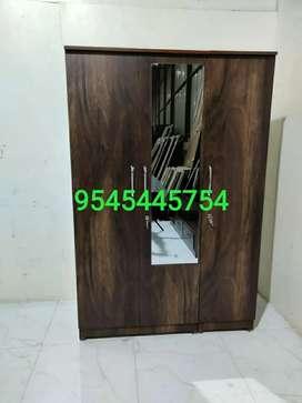 Brand New Jungle Wood Colour 3 Door Cupboard