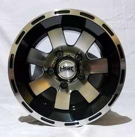 Jual velg Racing Jimmy, Feroza, Escudo Ring 15x10 H5/139.7 Bisa credit
