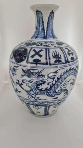 Guci poselen antik china kuno