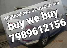 Outdated/Dead/Unused Scrap cars we buy/Scrap cars buyer