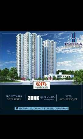 Pradhan mantri awas yojana 2 bhk flat in expressway sec 112