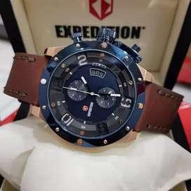 Expedition original type 6381 jam tangan pria