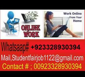 ONLINE and office work Earning opportunity