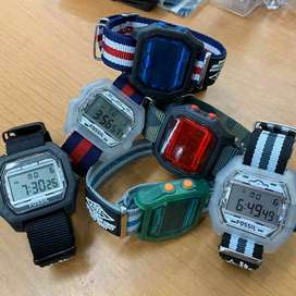 Jam tangan Fossil digital nylon include box original