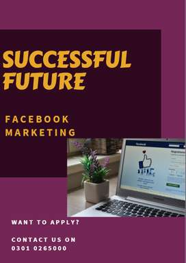 Online part time Facebook Marketing job
