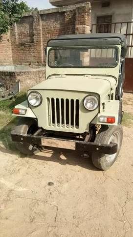 jeep mahidra D I modal no.1995