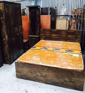 Manufacturing Rate new Bedroom set ON EMI .