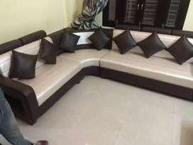 Light and cream colour new sofa