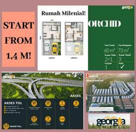 Rumah Mewah 2 Lantai Harga Terbaik di PIK 2 Utara Jakarta!