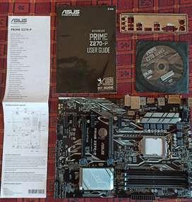 Z 270 P Motherboard   6th & 7th Gen Intel   Under Warranty   Overclock