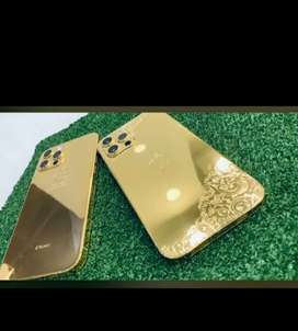 Apple Iphone 12 pro max Gold Plated
