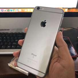 Iphone 6s+ plus 64gb grey muluss fullset [MAXBOX STORE]