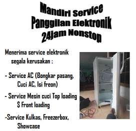 Spesialis servis Kulkas showcase | Mesin cuci top loading | Kompor
