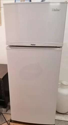 Haier fridge for urgent sale at a reasonable price.