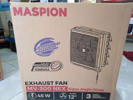 Delivery kipas angin hisap maspion 300nex-exhaust fan dinding 12inci