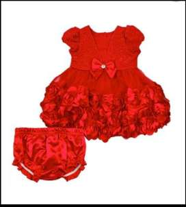 Baby girl partywear dresses