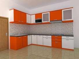 Kitchenset almari lemari HPL interior buffet RAA