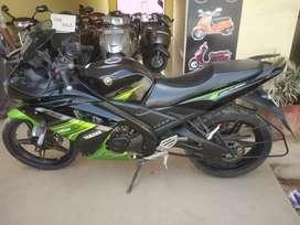 I am selling my bike Yamaha R15 model 2017 EMI option available here