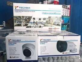 Paket komplit kamera cctv murah + pasang