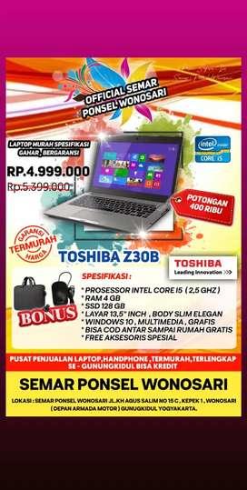 Laptop Toshiba z30b Prosesor Intel core i5