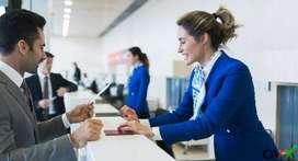 Hiring for Airport Cashier // Counter Executive