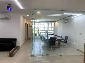 Fully Furnished Office Available On Rent.