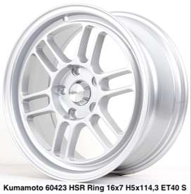 VELG MOBIL KUMAMOTO 60423 HSR R16X7 H5X114,3 ET40 SILVER