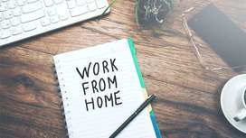 Weekly rs 2500 work in flexible time from home
