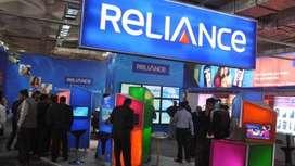 Reliance jio Telecom COMPANY are hiring 10th,12th, Graduate Pass candi