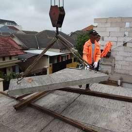Panel atap beton Precast praktis cepat dan ekonomis