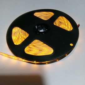 Lampu Led Strip 3528/2835 Kuning Waterproof Outdoor