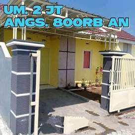 Rumah dp. Cm 2 juta // angs. 800rb an